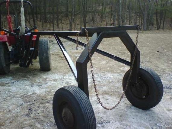 Scrap Yard Log Arch Build Job