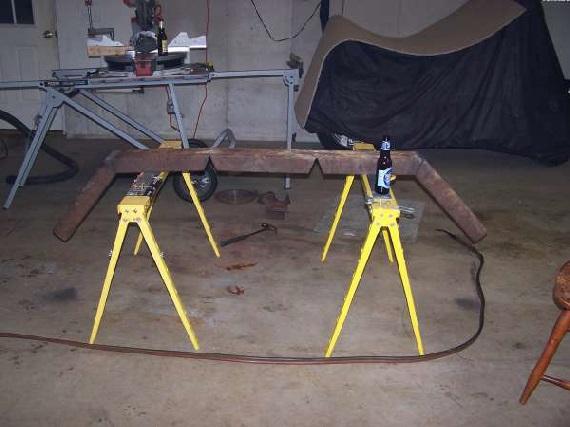 Log Splitter For Sale >> Scrap Yard Log Arch Build Job
